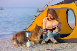 What To Take When Camping With a Dog At The Beach?
